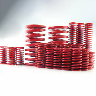 22mm OD Red Medium Load Compression Stamping Mould Die Spring 11mm ID All Sizes 10