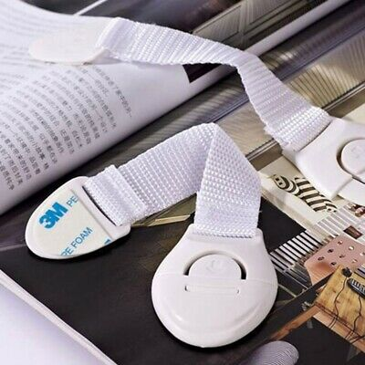 Baby Adhesive Safety Lock Child Infant Protect Cupboard Cabinet Doors Drawer 4