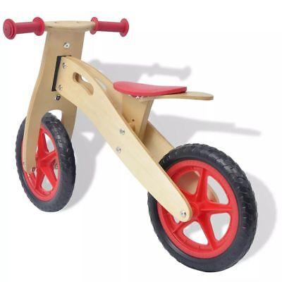Bicicletta Senza Pedali Bici Equilibrio Bambini 3 Anni Rossablu In Legno