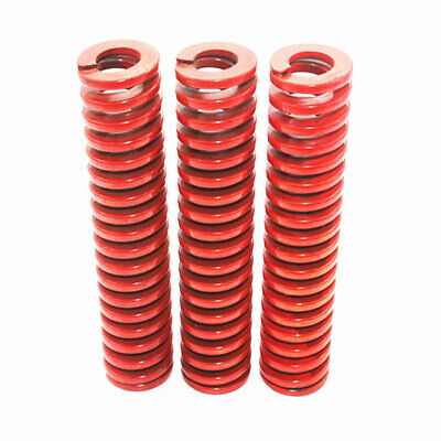 22mm OD Red Medium Load Compression Stamping Mould Die Spring 11mm ID All Sizes 5