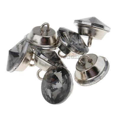 25 Stücke Kristall Knöpfe für Sofa Kopfteil Polster Dekoration