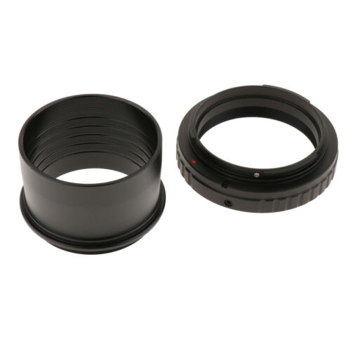 """2"""" 2inch to M48*0.75 Telescope Eyepiece Mount Adapter+T Ring for Canon DSLR 6"""