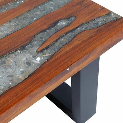 Tavolini Da Salotto In Legno Rustico.Vidaxl Legno Di Teak Tavolino Da Caffe Rustico Tavolo Basso Da Salotto Cucina
