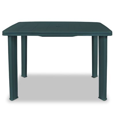 vidaXL Table de Jardin Plastique Multicolore Table à Manger Terrasse Patio