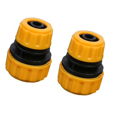 "2pcs 1/2"" to 5/8"" Water Hose Adapter Quick Connect for Water Pipe Fish Tank 12"