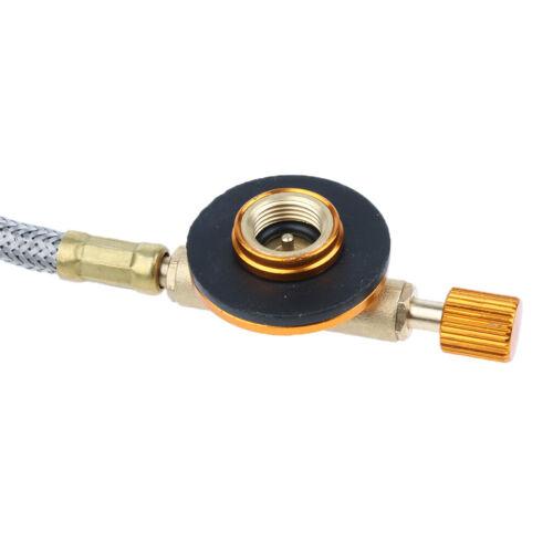 Länge Metall Camping Gasschlauch Adapter Gasherd Schlauch für BBQ Grill 70 cm