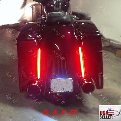Led Light Stick Harley Davidson Tour Pack Saddlebag Touring Bagger