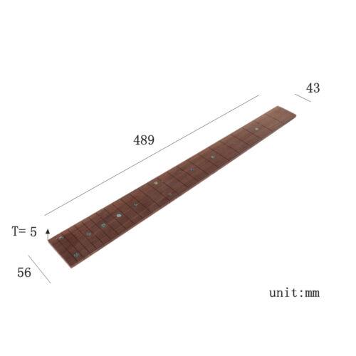 22 Fret Lp Gitarren Hals Mahagoni Palisander Griff Brett Sektor Und Binding E6H8