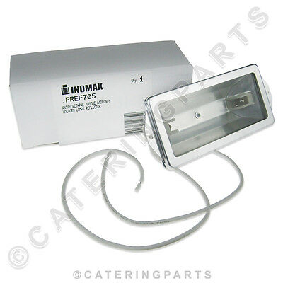 Inomak Overhead Heated Food Display Gantry Unit Light Bulb Heat Lamp Holder Kit 5