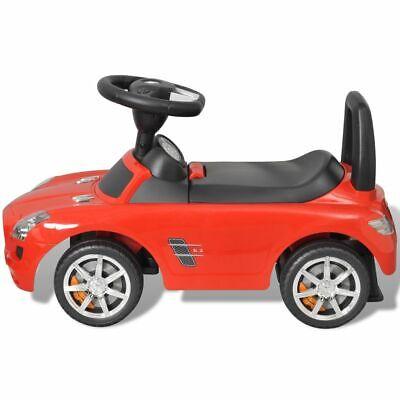 vidaXL Coche Correpasillos de Niños Mercedes Benz Rojo Coche Infantil Juguete 4