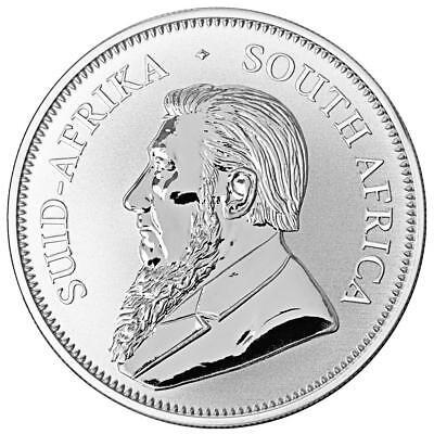 Südafrika 1 Rand 2018 Krügerrand Anlagemünze 1 Oz Silber St