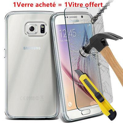 2 Vitre film de protection d'écran en verre trempé SAMSUNG Galaxy ++ 50Modèles ! 2