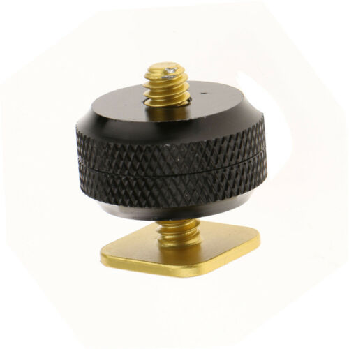 """Camera Hot Shoe Mount to 1/4""""-20 Tripod Screw Adapter Mount for DSLR Cameras 5"""