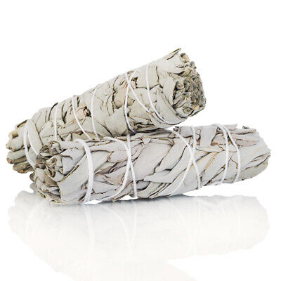 """White Sage Smudge Stick 4"""" - 5""""  5 pack, Herb House Cleansing Negativity Removal 2"""