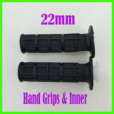 22mm Twist Throttle Hand Grips + Tube + Housing 50cc-140cc ATV Dirt Pit Bike 3