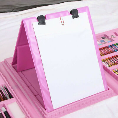 Kids Colouring Set 208PCS Artists Art Case Pencils Painting Childrens Craft 5