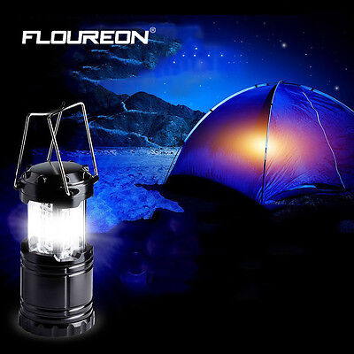 2p x 30 LED Camping Lantern Portable Collapsible Light Outdoor Hiking Work Lamp 3