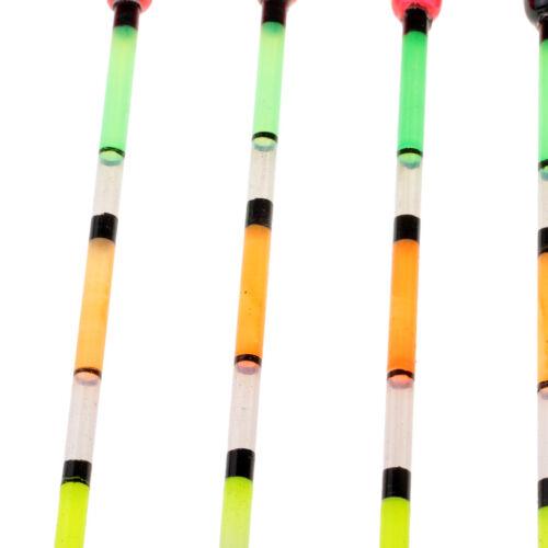 5 Stück Angeln Posen 4g aus Paulownia Holz Float Bobbers für Karpfenangeln