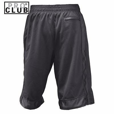 New Men's Proclub Printed Skull Funny Heavy Weight Basketball Mesh Shorts Pants 4
