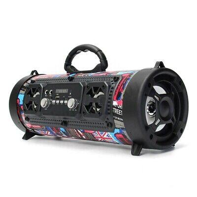 High Bass Ultra Loud Bluetooth Speakers Portable Wireless Speaker Outdoor/Indoor 3