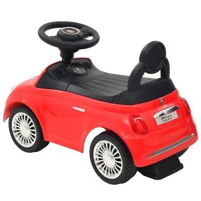 vidaXL Coche Correpasillos para Niño Fiat 500 Carrito Juguete Diversos Colores 3