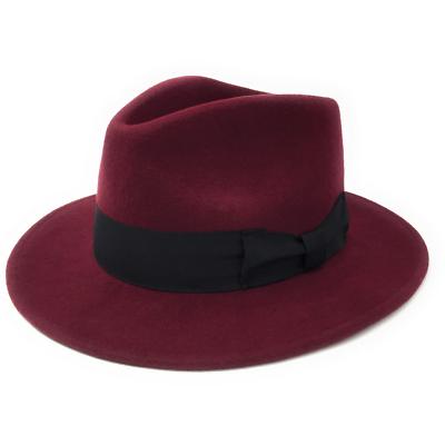0e862c50e COTSWOLD COUNTRY HATS 100% Wool Felt Crushable Indiana Fedora Hat - Mens Hat