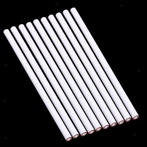 10 Pcs China Marker Wax Pencil Non Toxic Glass Metal Wood Fabric white 8