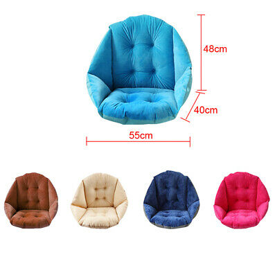 Comfort Lower Back Support Upright Armchair Pillow Cane Chair Cushion 5 Colors