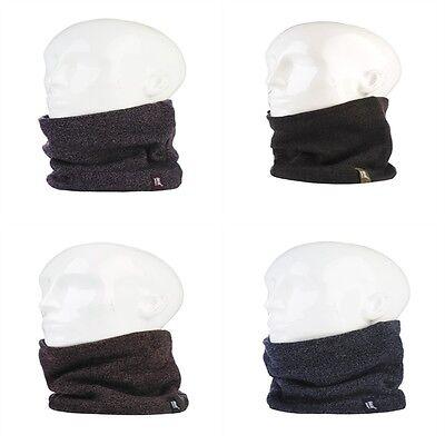 U30 CHUNKY WINTER WARM SNOW FUNKY NECK WARMER SNOOD SCARF ADJUSTABLE TOGGLE HAT
