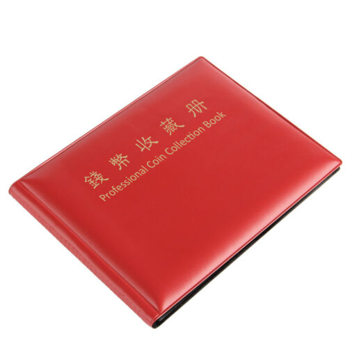 240 Collection Storage Penny Pockets Money Album Book Collecting Coin Holders 5