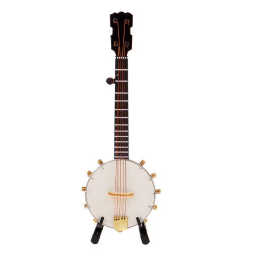 1/6 Soldier Scenario Accessories Decorations Metal Instruments Banjo Toys 4