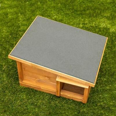 Predator Proof Hedgehog Hibernation Shelter Solid Wood Habitat Nest Box House 4