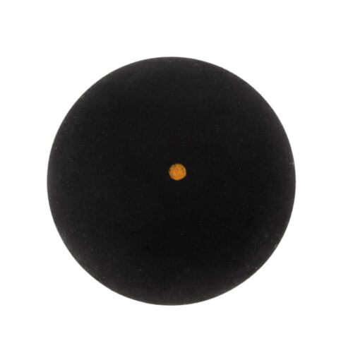 2 Pack Single Gelb Dot Trainning Squash Bälle für Sport Praxis Training
