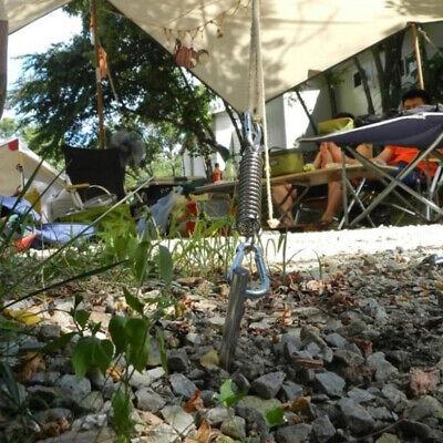 8pcs Spannfeder Federschnalle Zelt Edelstahl Zugfeder Sonnensegel f/ür Campingzelt Befestigungszubeh/ör Xiuyer Spannfeder Sprungfedern