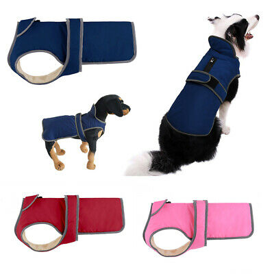 US Waterproof Clothes Winter Warm Pet Dog For Small Medium Large Dog Coat Jacket 5