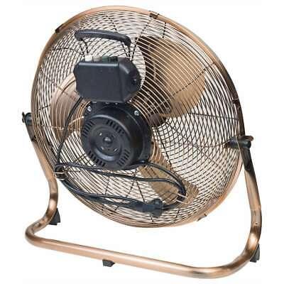 Bestron Ventilateur Turbo 45 cm Cuivre Ventilateur Électrique Refroidissement 6