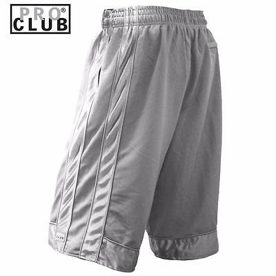 New Men's Proclub Printed Skull Funny Heavy Weight Basketball Mesh Shorts Pants 9