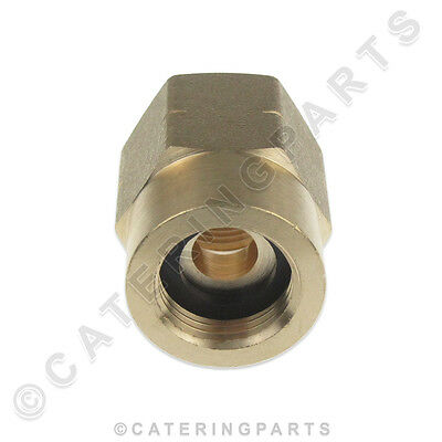 GAS BOTTLE CONNECTOR ADAPTOR FITTING BUTANE TYPE TO POL TYPE LP LPG PROPANE
