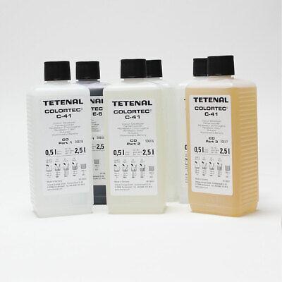 Tetenal Colortec C-41 Negative Rapid 2 Bath Kit 2.5L 3