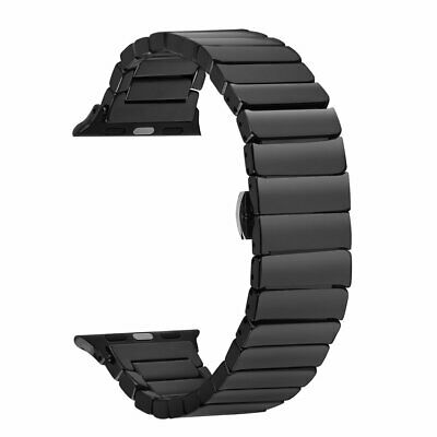 Metal Steel Link Watch Band Strap for Apple Watch Series 5 4 3 2 1 38/40/42/44mm 2