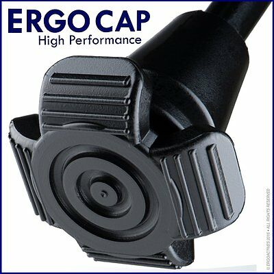 Ergocap® High Performance Crutch Rubber Tips (Universal) 1 or 2 Tips