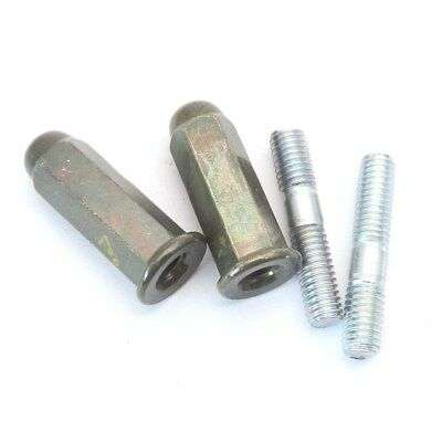 Chinese Scooter Exhaust Studs Nuts Gasket Set GY6 50cc 125cc 150cc QMB139 Moto 9