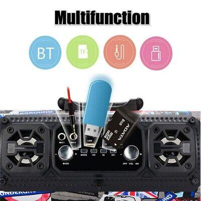 High Bass Ultra Loud Bluetooth Speakers Portable Wireless Speaker Outdoor/Indoor 7