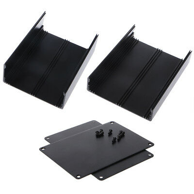 Aluminum Project Box DIY Electronic Enclosure Junction Case Box 200x178x62mm