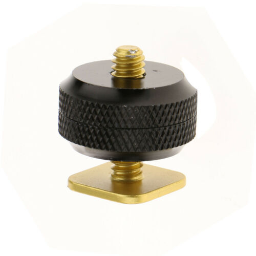 """Camera Hot Shoe Mount to 1/4""""-20 Tripod Screw Adapter Mount for DSLR Cameras 8"""