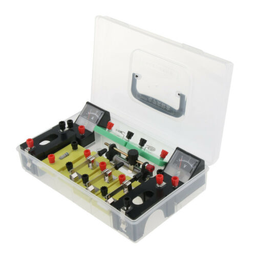 Physics Science Basic Circuit Electricity Classroom Experiment Learning Kit. 12
