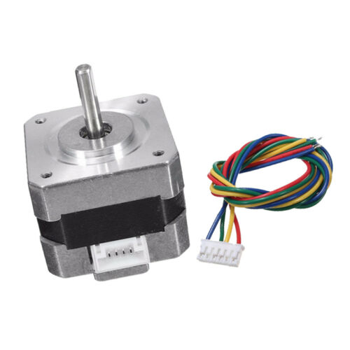 Metal Nema 17 Bipolar Stepper Motor 28N.cm 0.4A 12V 1.8° For CNC/3D Printer 10