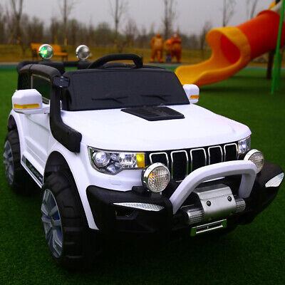 Auto Elettrica Per Bambini Macchina Jeep 2 Posti 4Wd 12V Con Telecomando Usb Mp3 8