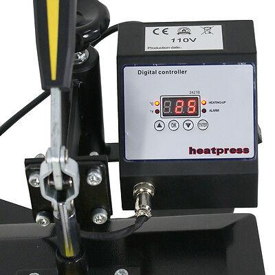 12 X 10 Digital Clamshell T SHIRT HEAT PRESS HEATPRESS TRANSFER MACHINE NEW 10