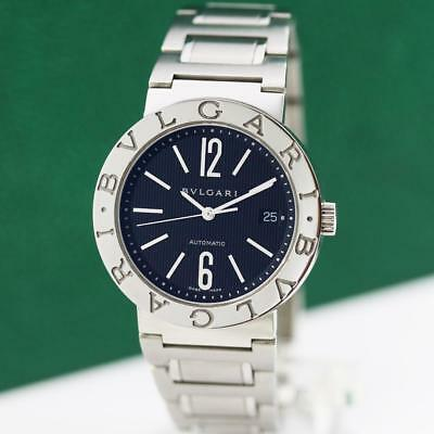 big sale 50692 53894 BVLGARI BULGARI DIAGONO Bb38Ss Stainless Steel Automatic Date Unisex Watch